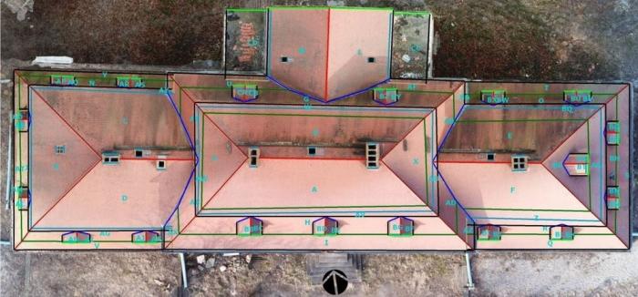 einfache Dachvermessung mit Drohnen
