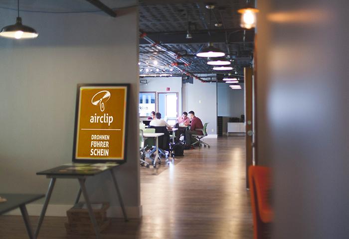 Drohnenschulung bei Airclip