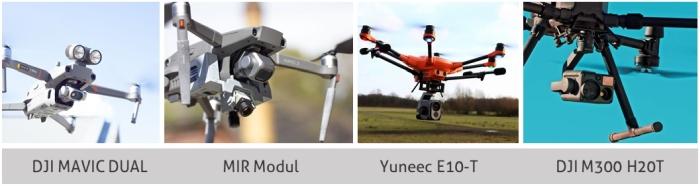 Wärmebild-Drohnen