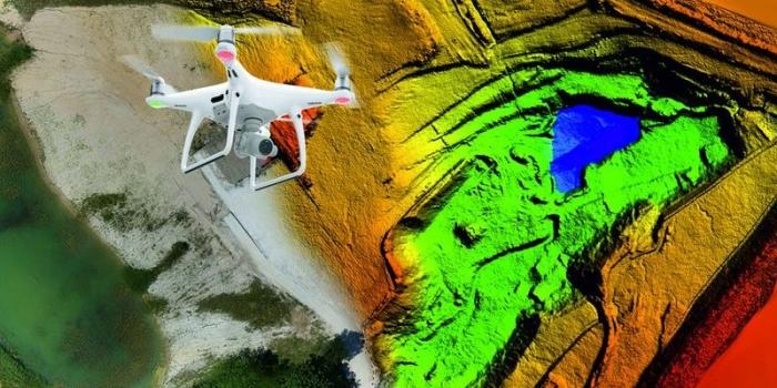 3D Vermessung mit einer Drohne