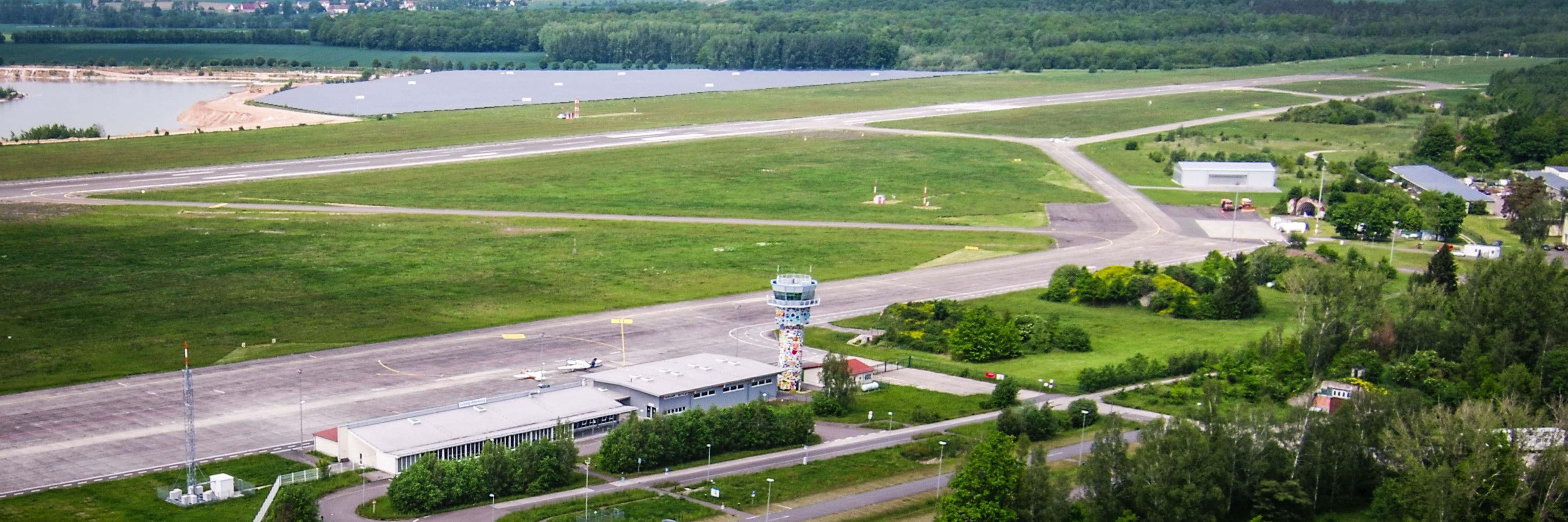 Erste Schulung am Flughafen Altenburg
