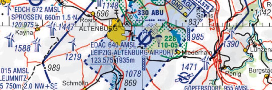 Drohnen über Gatwick