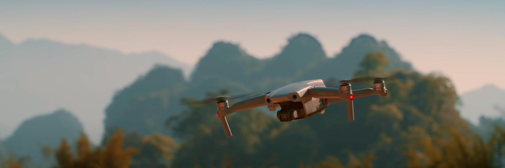 DJI Mavic Air 2 - ein neues Abenteuer