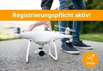 Registrierungspflicht für Drohnen ab sofort aktiv