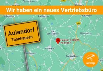 Neues Vertriebsbüro in Aulendorf