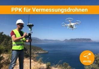 PPK zum Nachbearbeiten von Drohnen-Daten