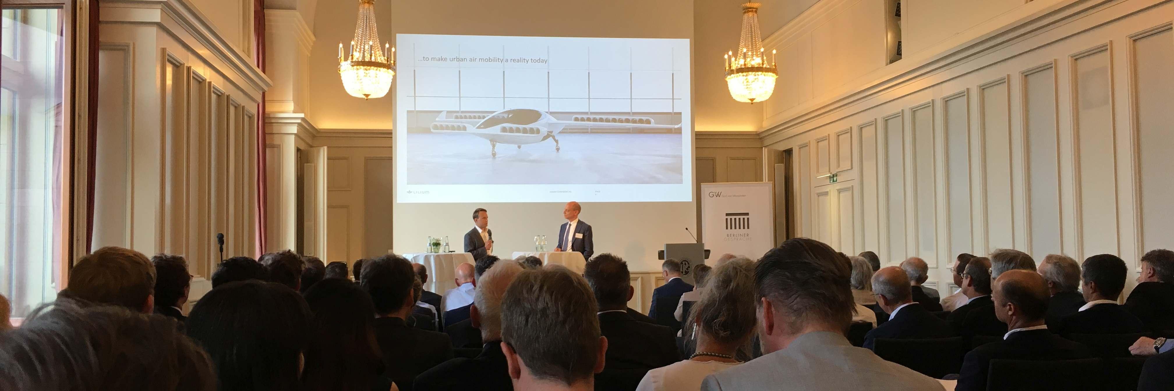 Berlin spricht über autonomes Fliegen