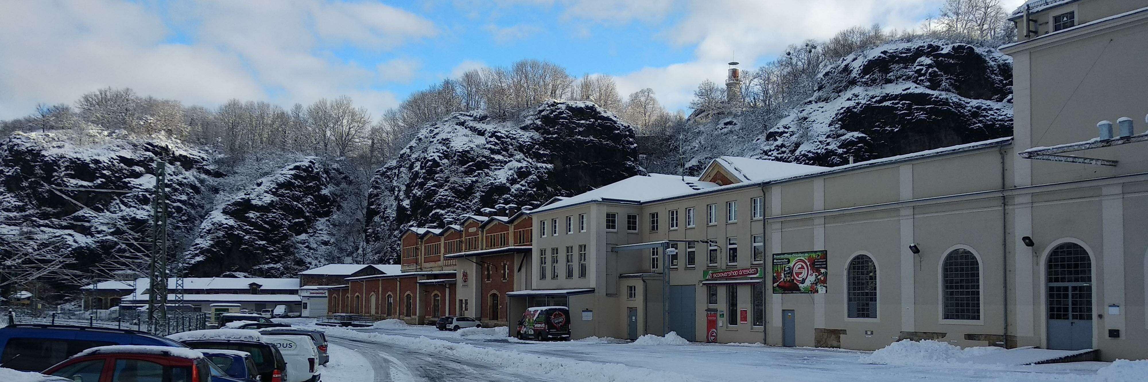 Airclip Büro im Winter