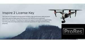 DJI Inspire 2 Lizenzschlüssel Pro Res