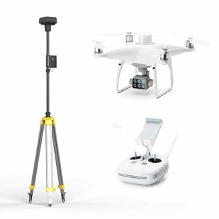 DJI P4 Multispectral + D-RTK 2 Mobile Station